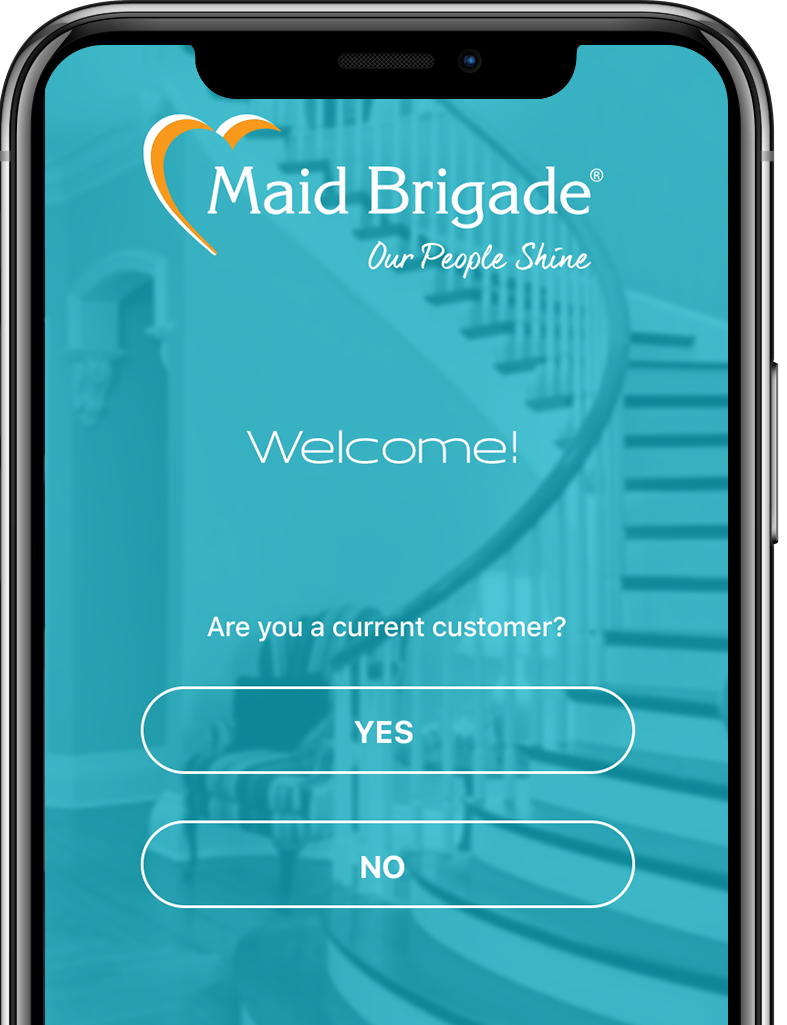Maid Brigade Customer App