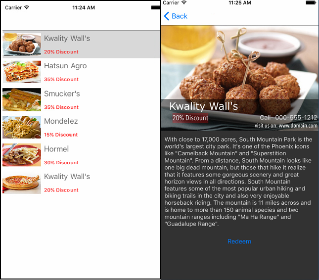 Card View in Xamarin.Forms